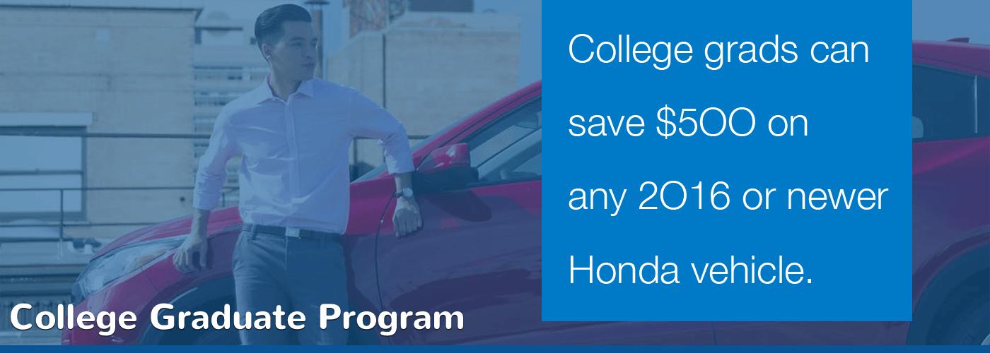 Tri-State Honda College Graduate Program