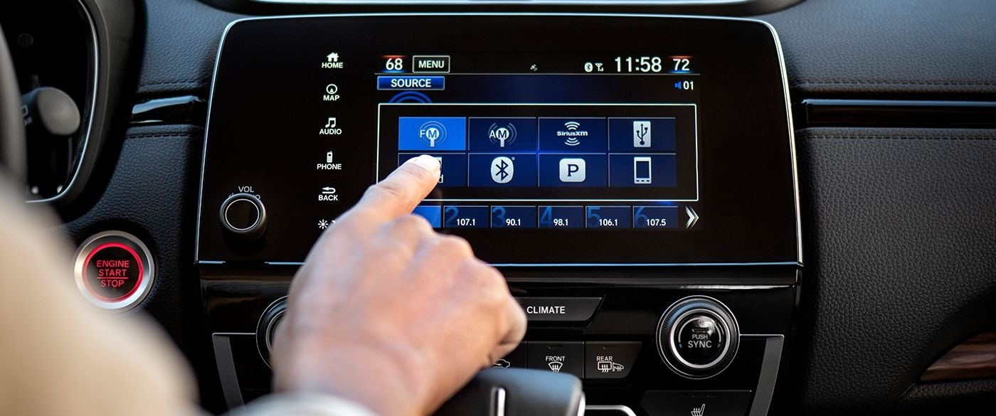 2017 Honda CR-V Audio Options