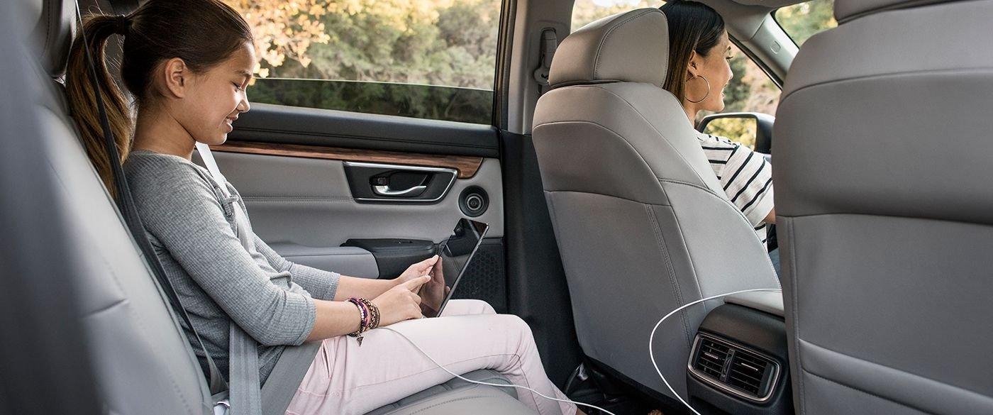 2017 Honda CR-V Rear Seating