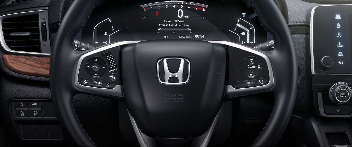 2017 Honda CR-V Steering Wheel Bluetooth Features