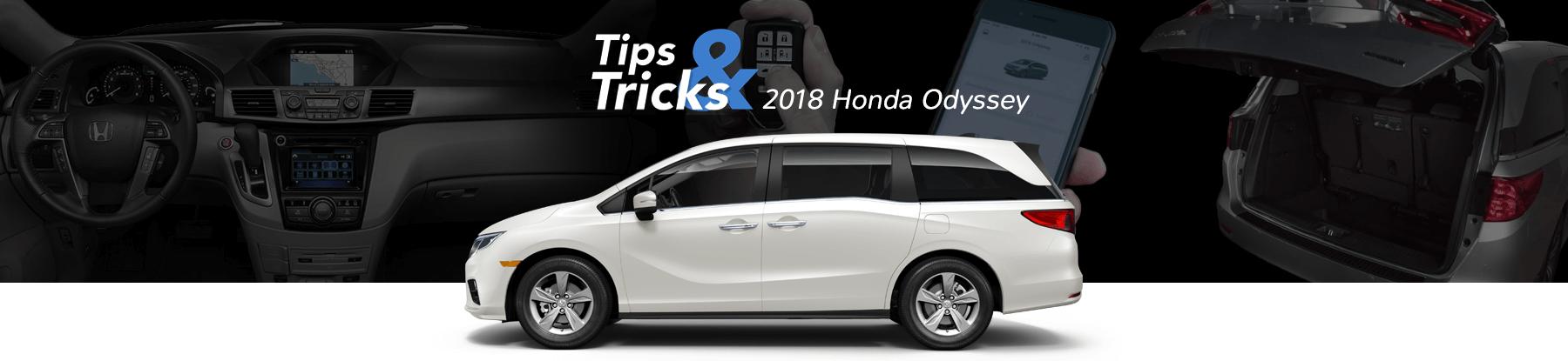 2018 Honda Odyssey Tips & Tricks Banner