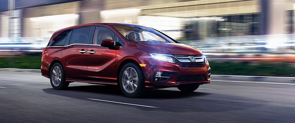 2018 Honda Odyssey Driving