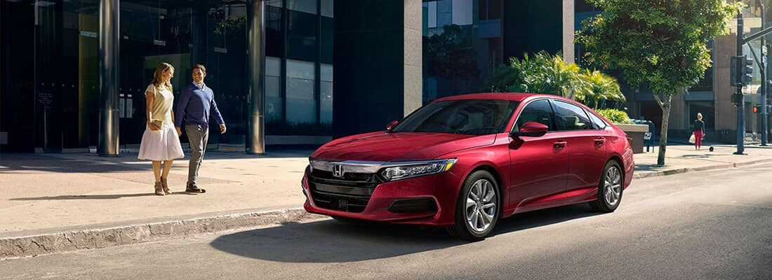 2018 Honda Accord Red