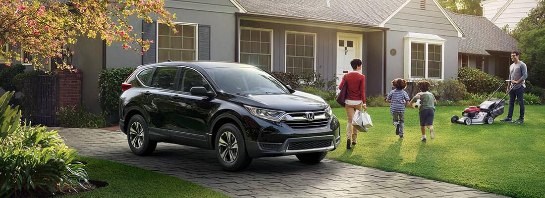 2018 Honda CR-V Driveway