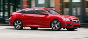 2018 Honda Civic Red