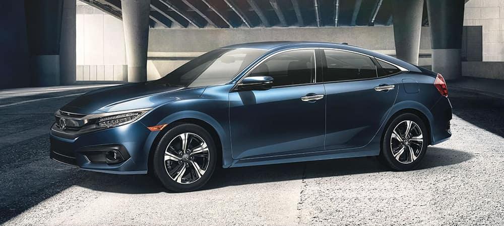 2018 Honda Civic Blue