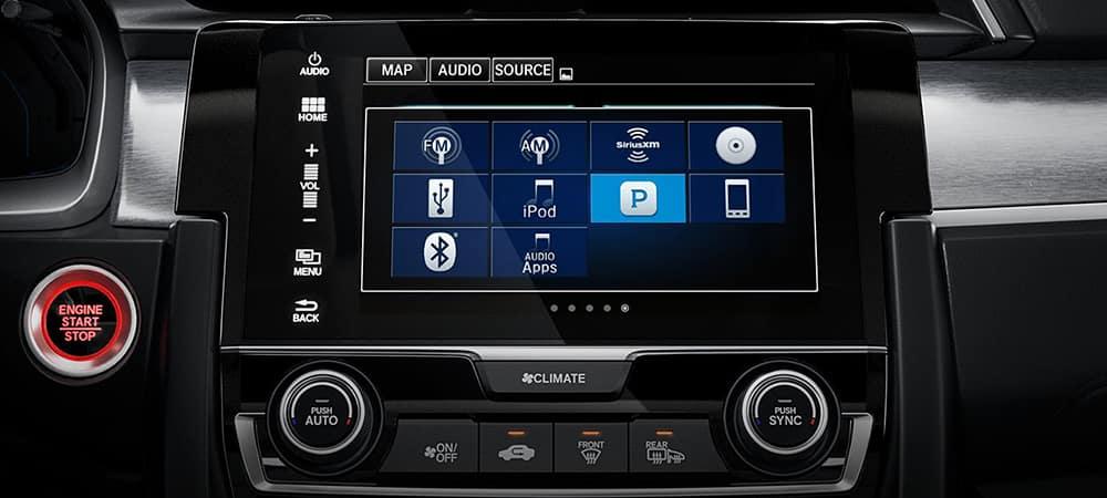 2018 Honda Civic Touchscreen