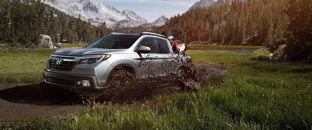 2018 Honda Ridgeline Muddy