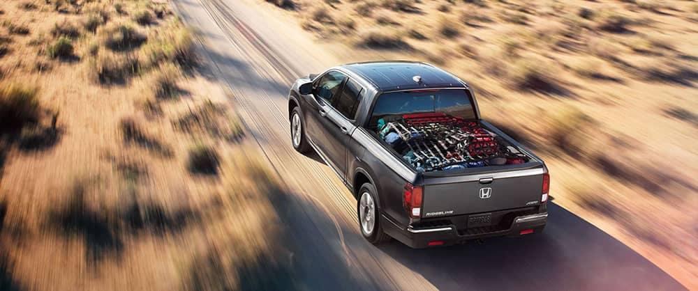 2018 Honda Ridgeline Driving
