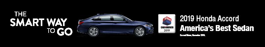 2019 Accord Smart Way to Go Tri-State Honda Dealers