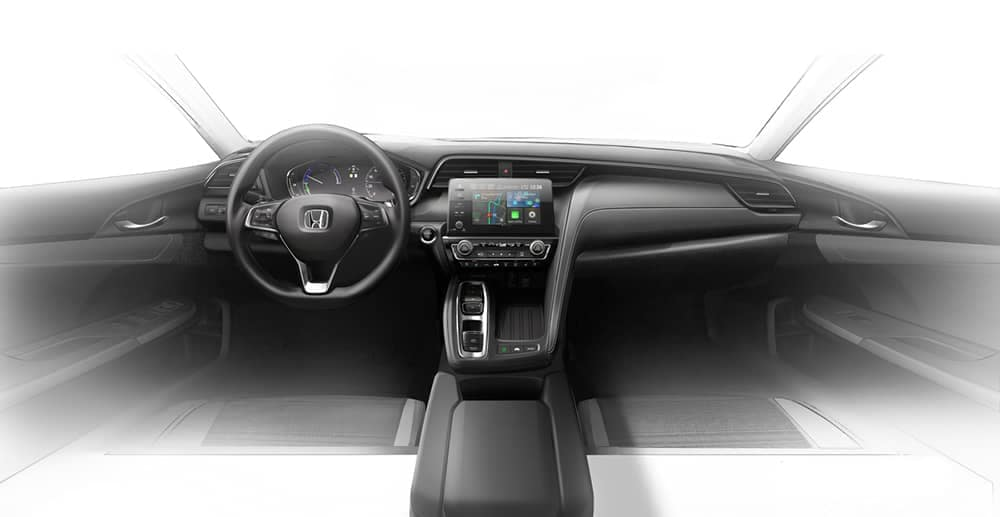 2019 Honda Insight Dash