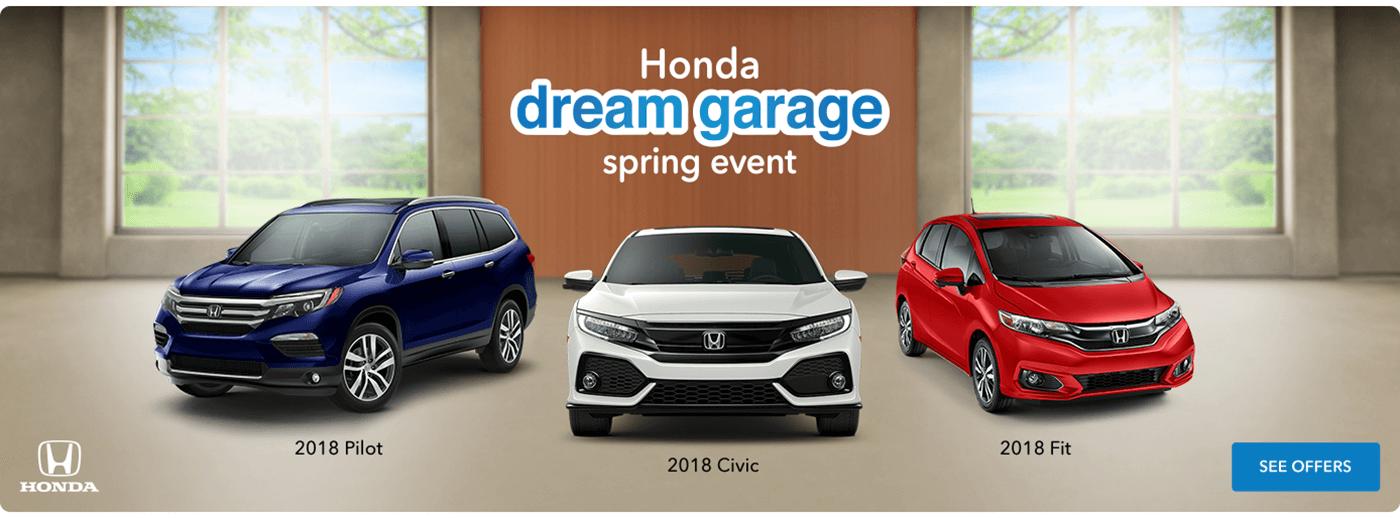 Tri-State Honda Dream Garage Spring Event