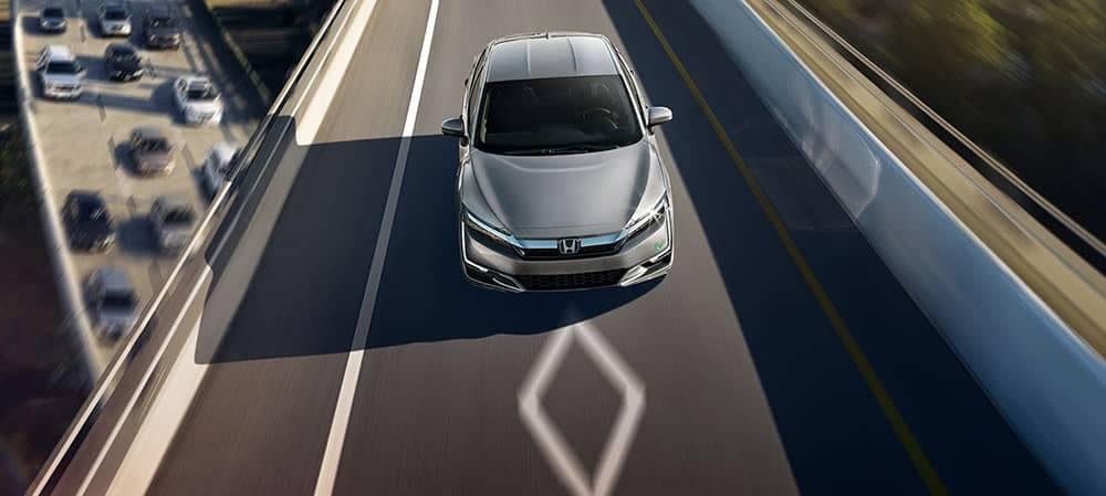 2018 Honda Clarity PIH Driving