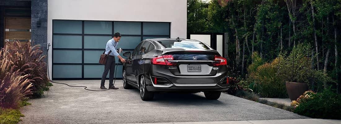 2018 Honda Clarity Charging