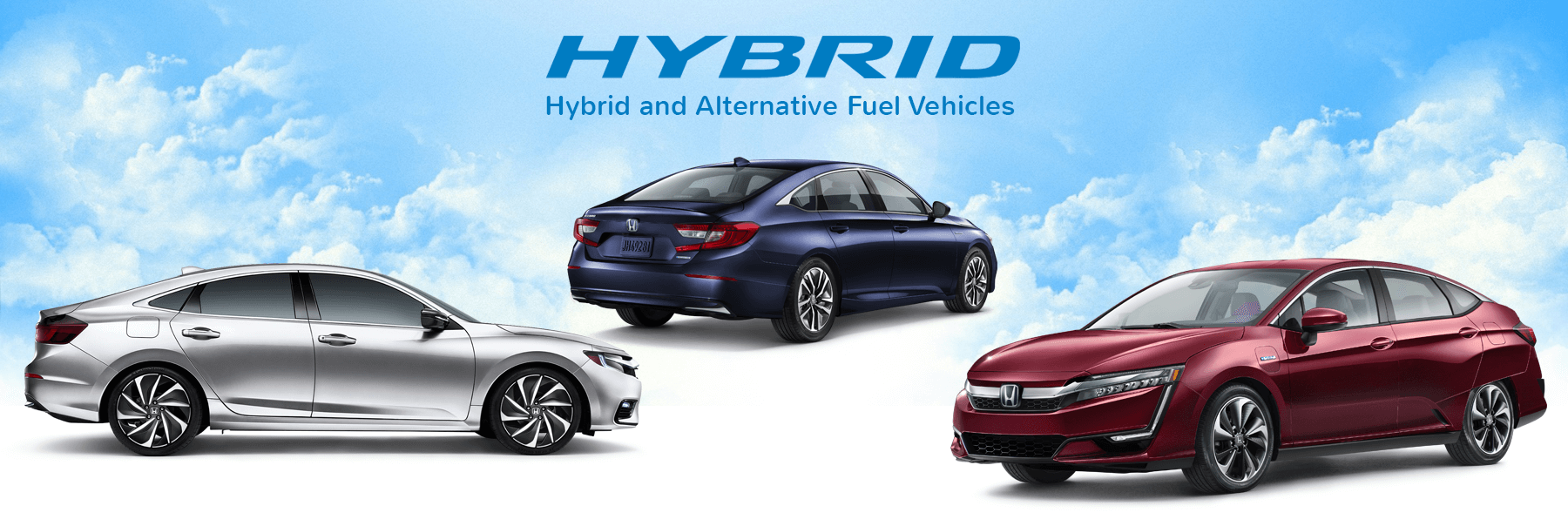 Honda Hybrid and Alternative Fuel Vehicles