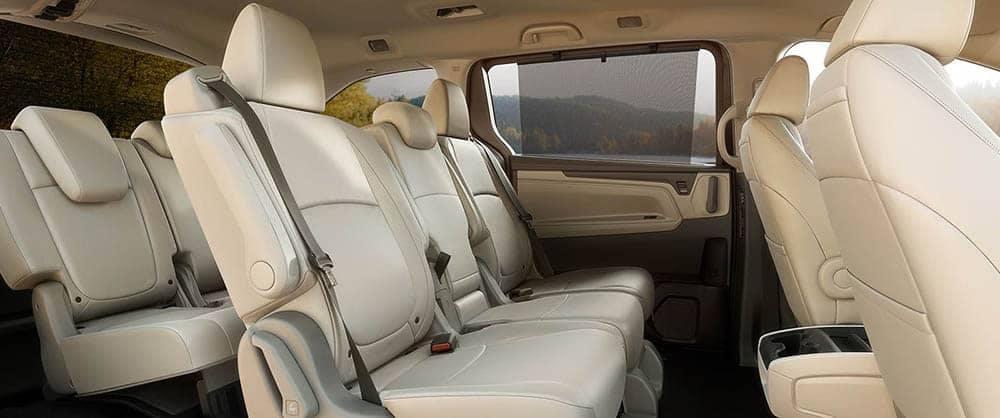 2019 Honda Odyssey Seating