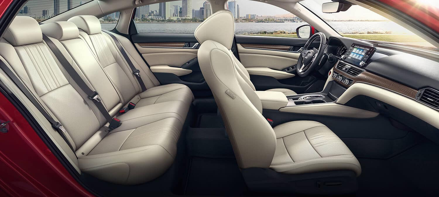 2019 Honda Accord Sedan Interior Seating Passenger Side