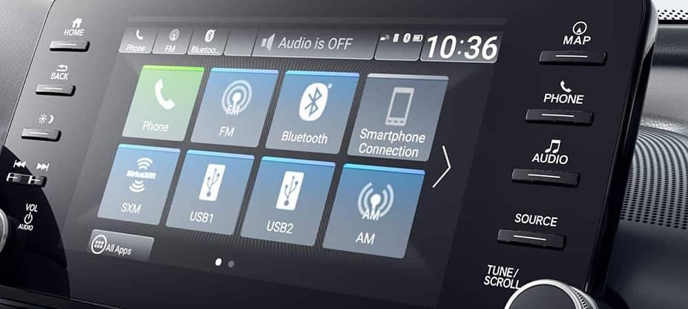 2019 Honda Accord Bluetooth