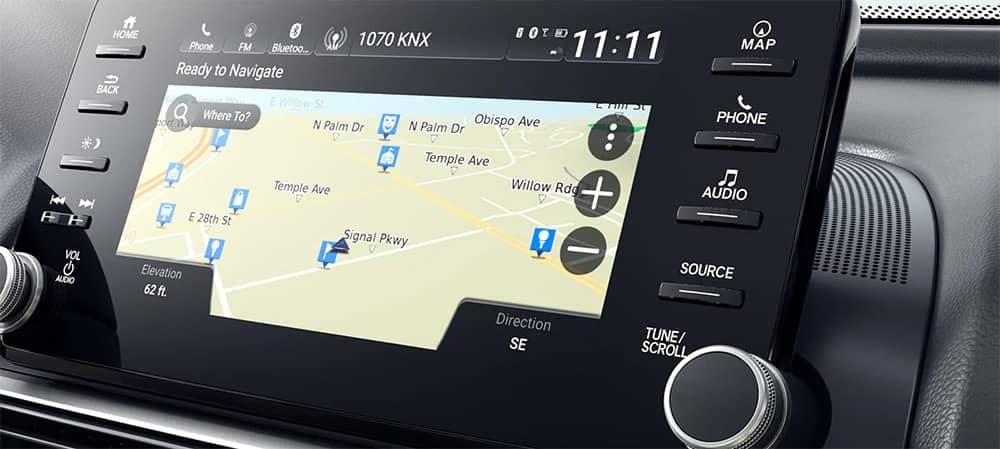 2019 Honda Accord Navigation