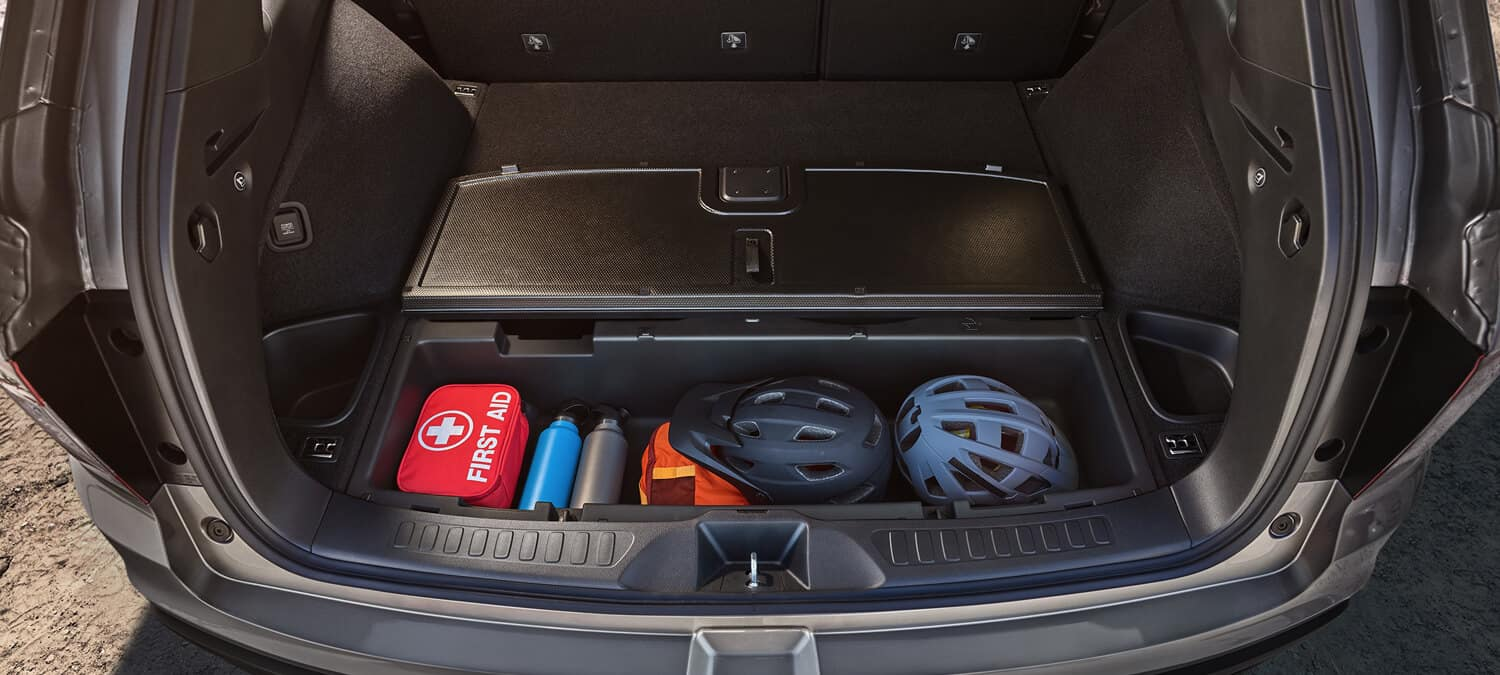 2019 Honda Passport Cargo Space Provides Over 100 Cubic Feet