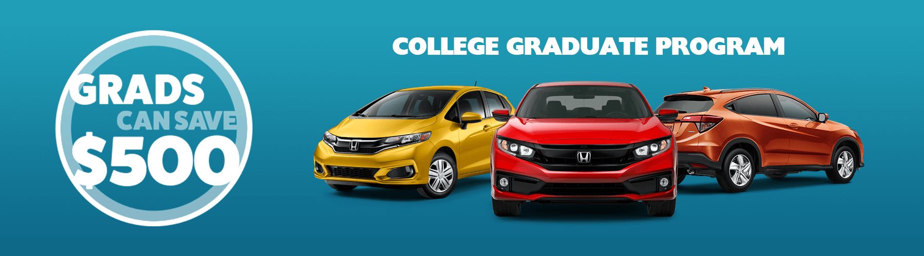 2019 Honda College Graduate Program Slider