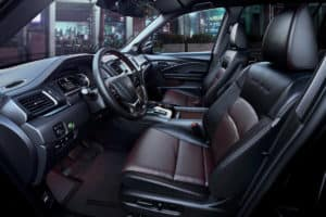 2020 Honda Pilot Interior Black Edition Cockpit Driver Side