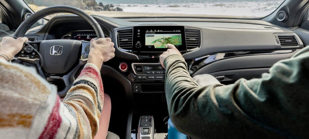 2020 Honda Passport AWD Interior Cockpit Overview