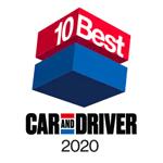 Honda Accord 2020 Car and Driver's 10Best Award