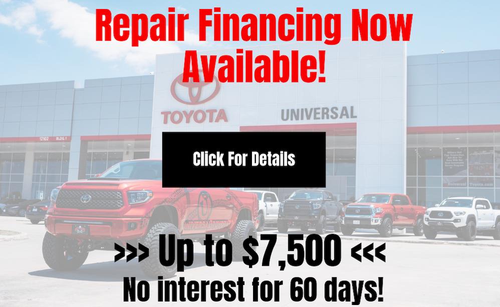 repair financing