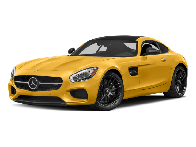 2017 MB AMG GT Yellow