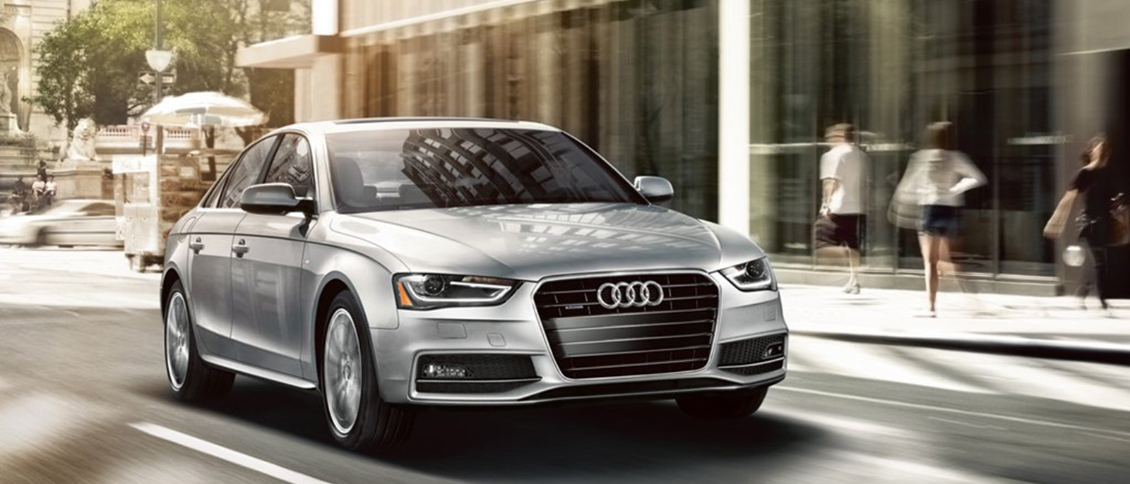 2015 Audi A4 Exterior on road