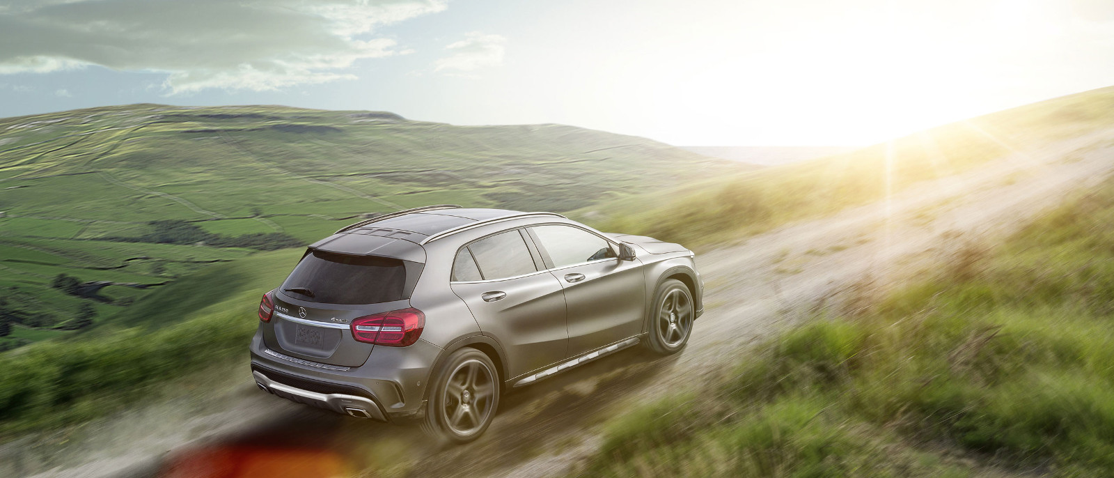2015 Mercedes-Benz GLA Rear Exterior