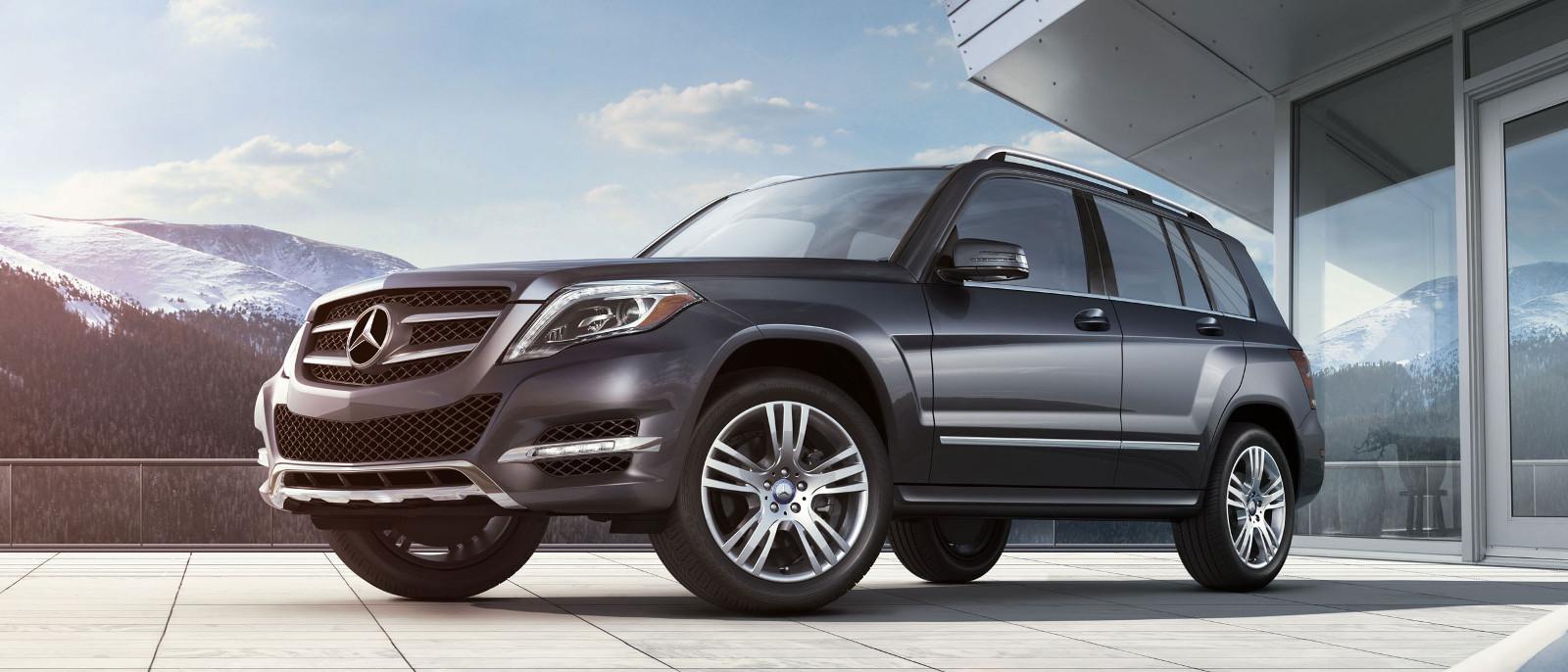 2015 Mercedes-Benz GLK Exterior parked