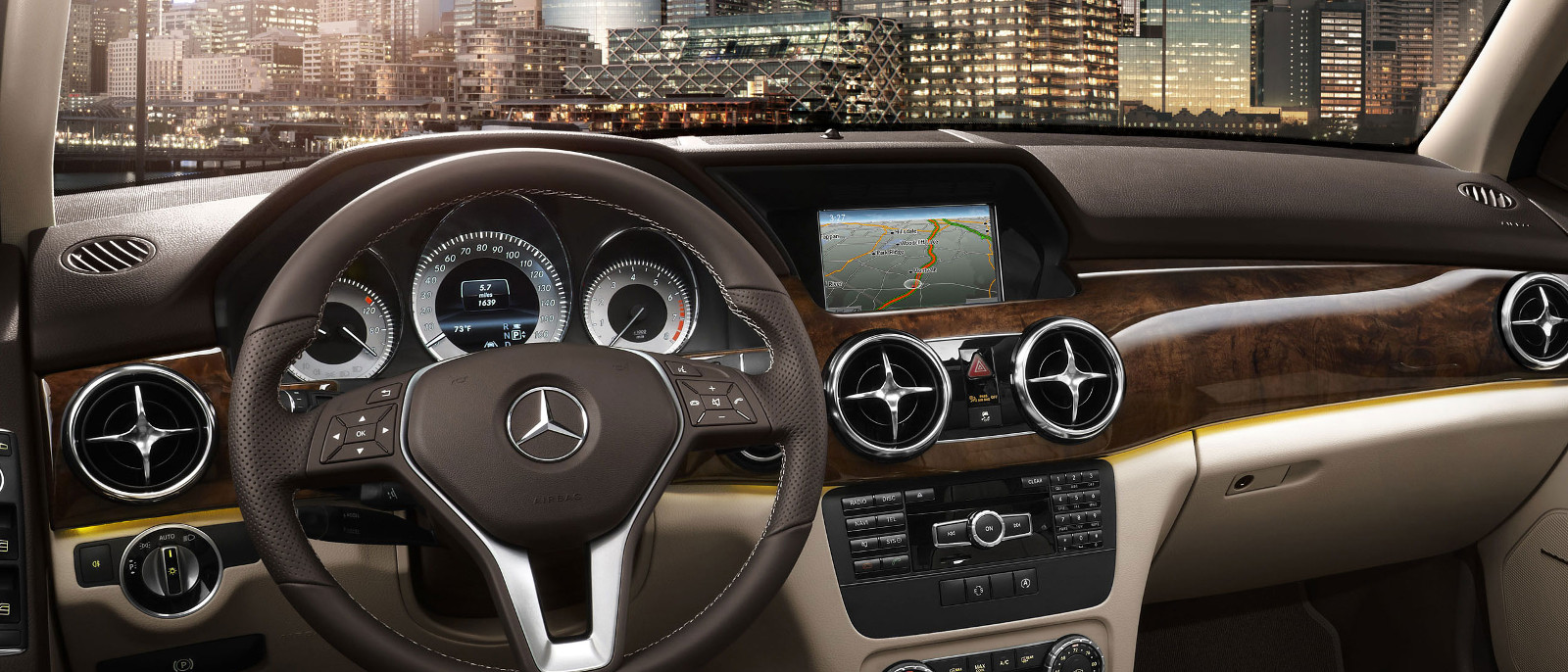 2015 Mercedes-Benz GLK Interior