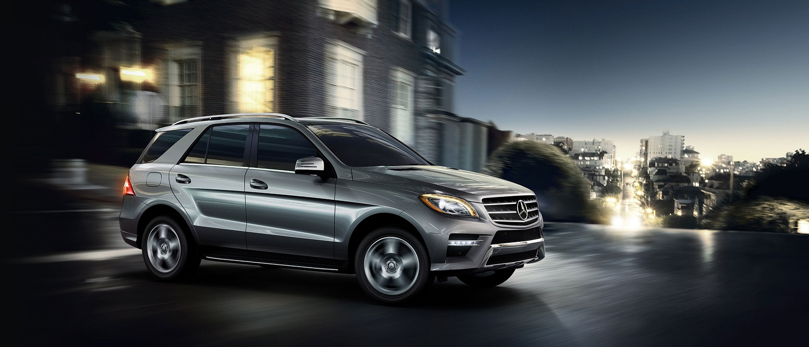 2015 Mercedes-Benz M-Class ML350 Gray