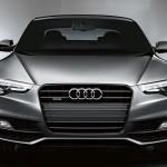 Audi A5 front profile