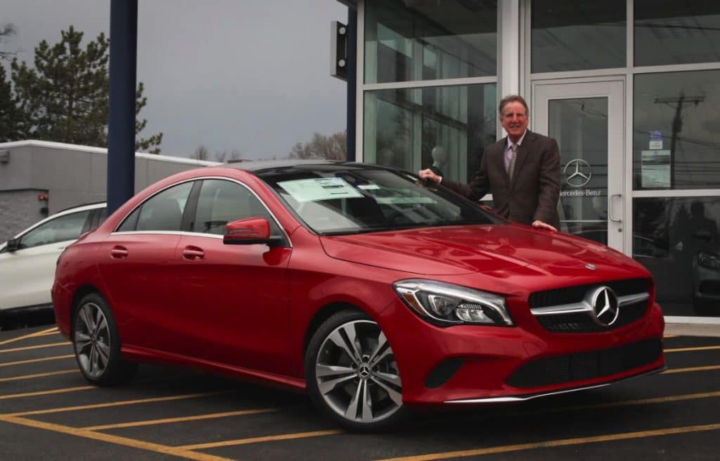 2019 Mercedes-Benz CLA 250 4MATIC® Lease