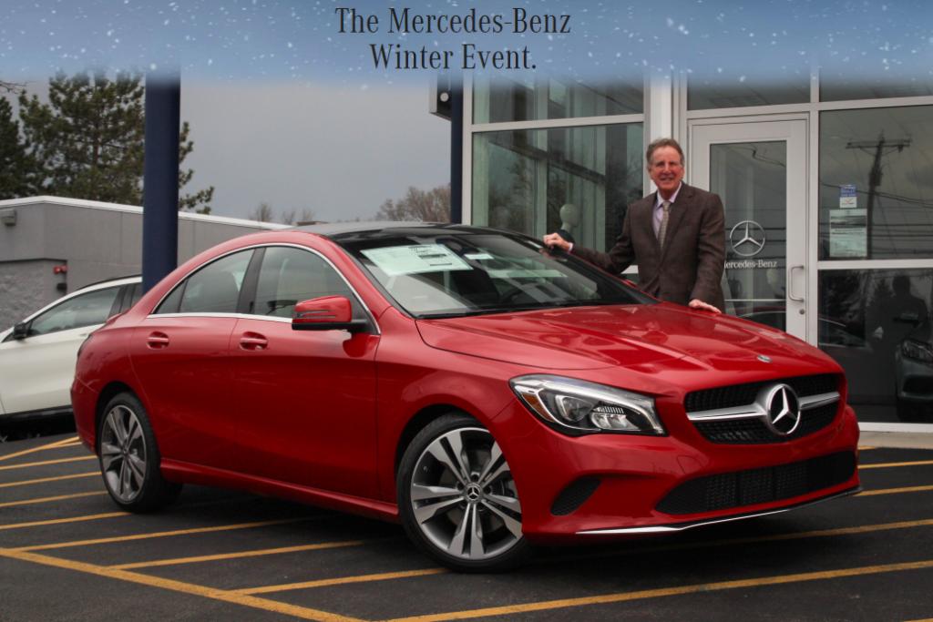2018 Mercedes-Benz CLA 250 4MATIC® Lease
