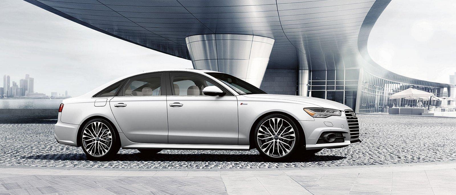 silver 2017 Audi A6