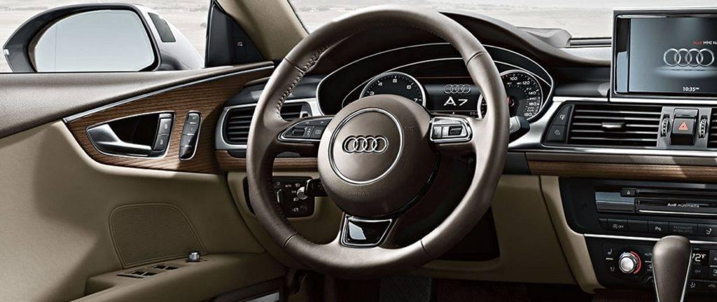 2017 Audi A7 wheel