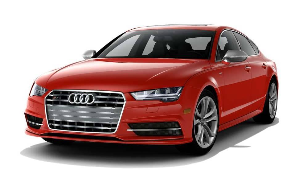 2017 Audi S7 Red