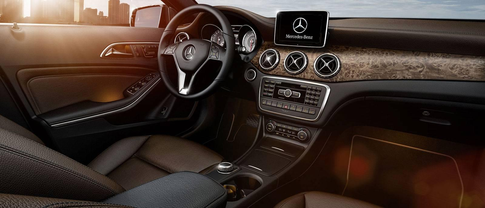 2017 MB GLA250 Interior