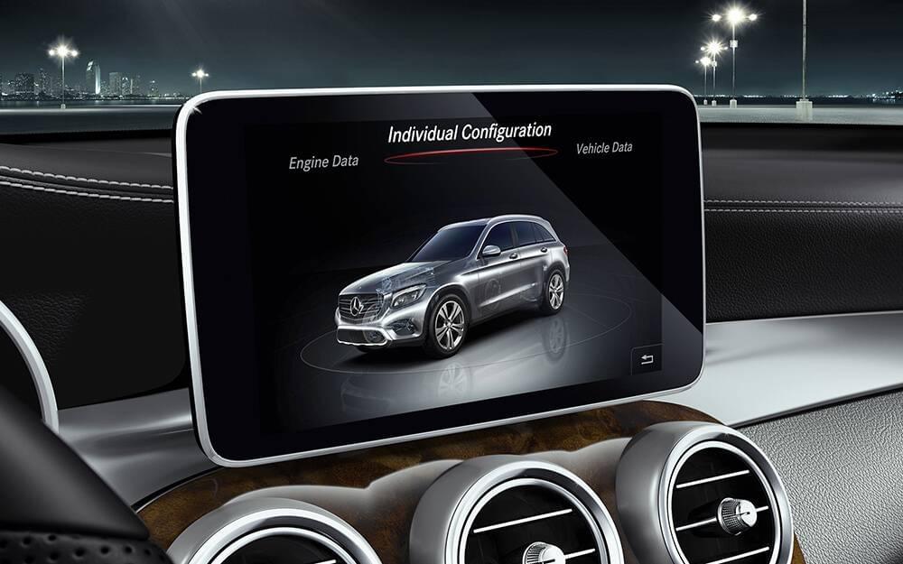 2017 MB GLC Class Touchscreen
