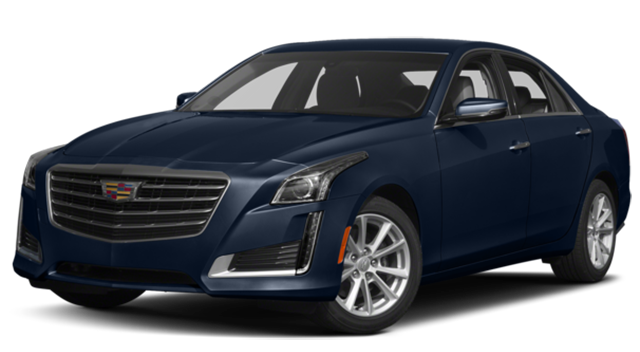 2017 Cadillac CTS Blue