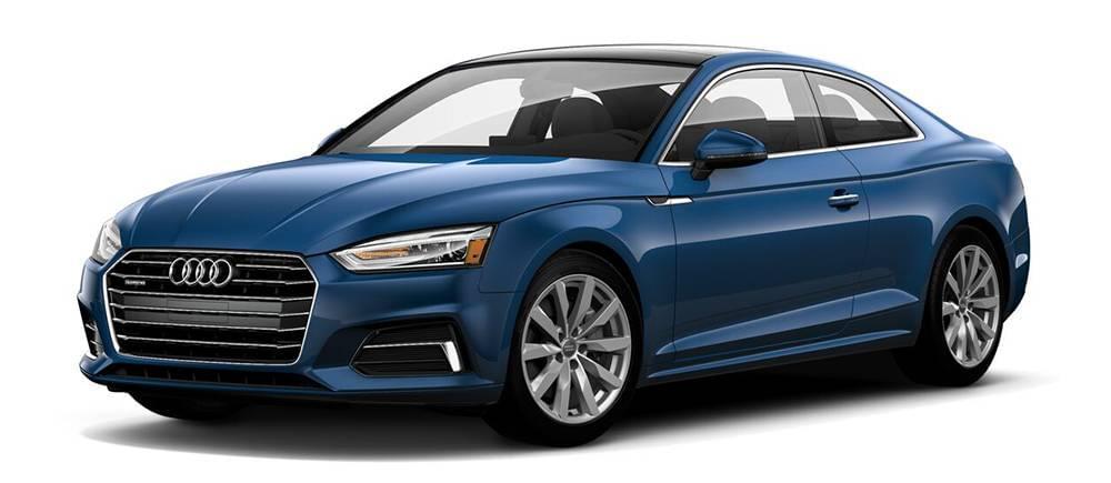 2018 Audi A5 Blue