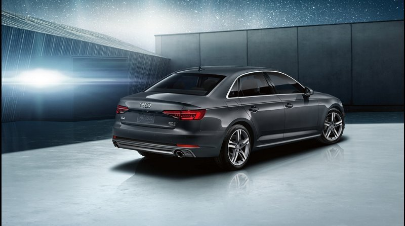 2018 Audi A4 Rear