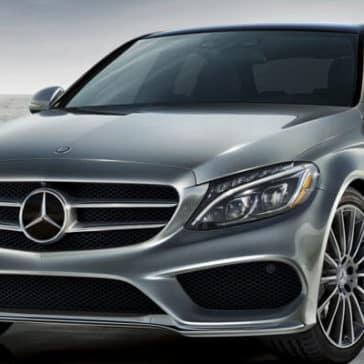 2018 Mercedes-Benz C-Class Sedan Front Exterior