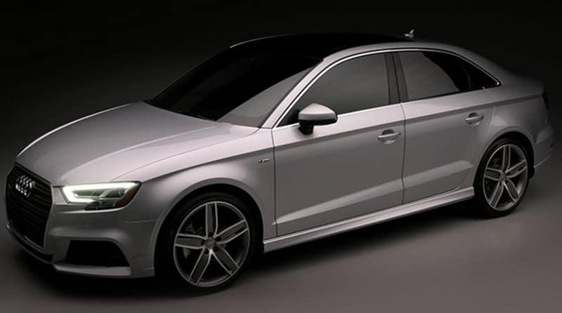 2018 Audi A3 Silver