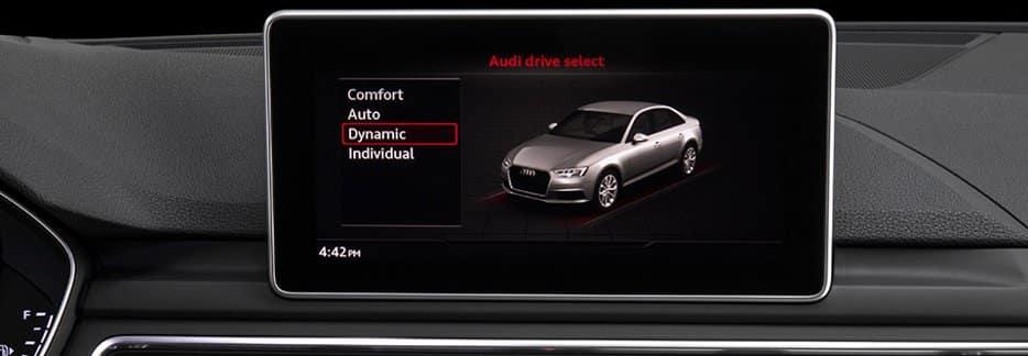 2018 Audi A4 Display