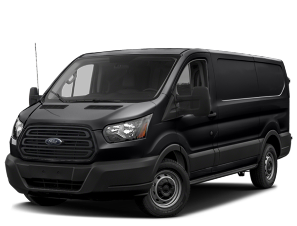Black Ford Transit